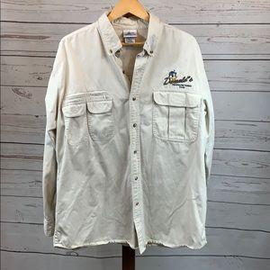 Disney Donald's Freshwater Tours Fishing Shirt